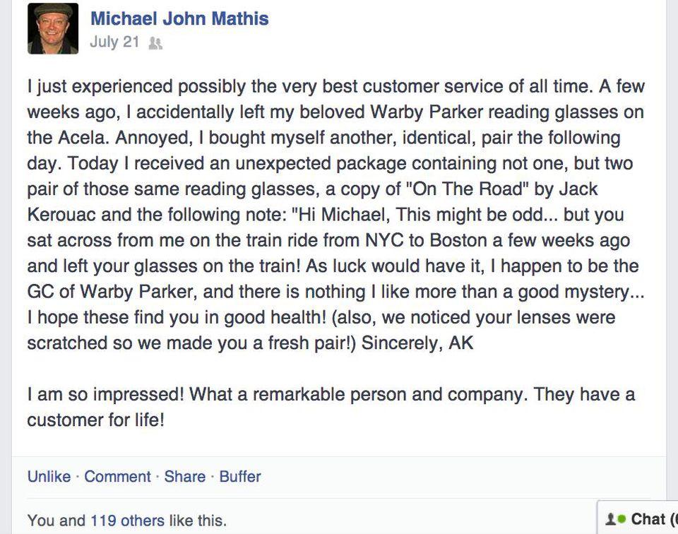 Customer's story
