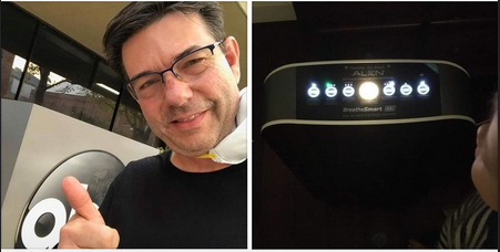 Mark Caddell, <abbr>VP</abbr> of Sales and Customer Relations at Alen Air Purifiers