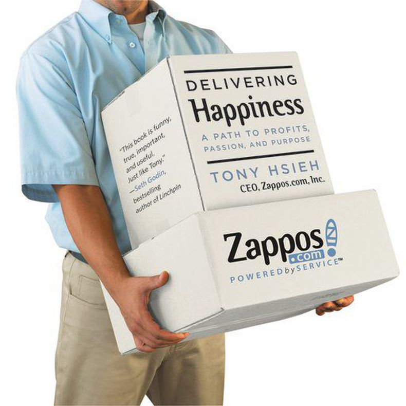 Tony Hsieh, Zappos.com: 'Delivering Happiness: A Path to Profits, Passion, and Purpose'
