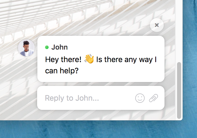 John: Hey there! Is there any way I can help?