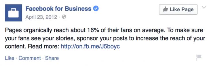 фейсбук для бизнес